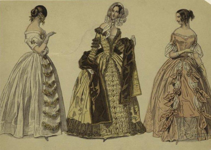 R ckblick in die modetrends des 19 jahrhunderts for Mode aus england