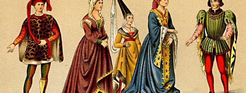 Mode im Mittelalter war die Mode der Profis