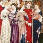 Frauenkleidung im Mittelalter