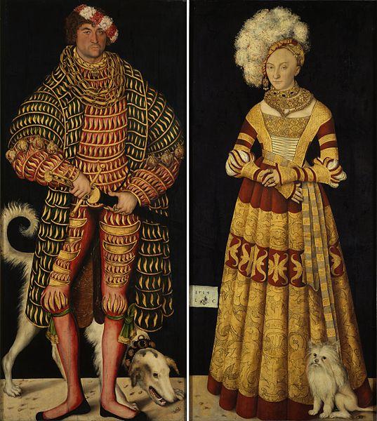 Darstellung der Mode in Renaissance