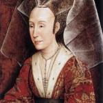Hennin - mittelalterliche Kopfbedeckung der Frauen